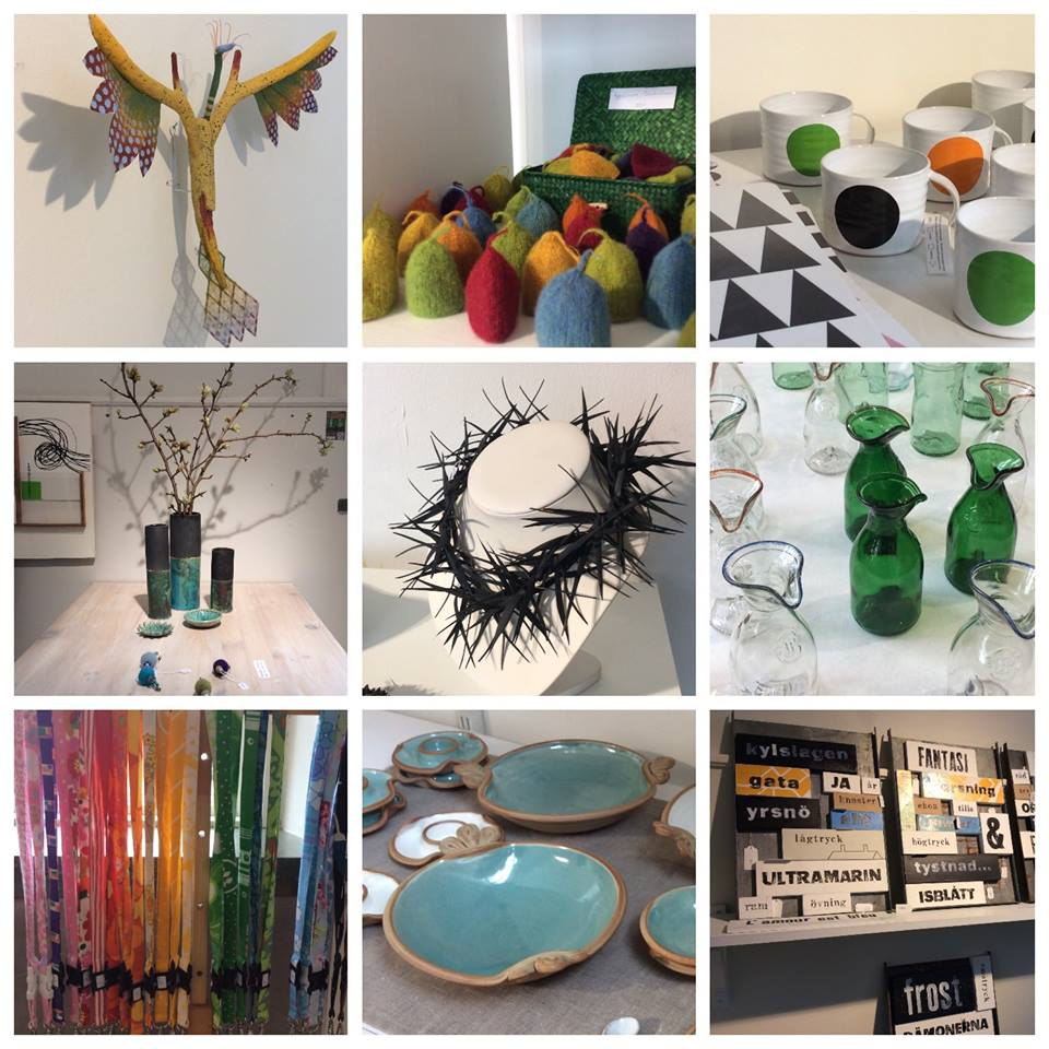 Konst & hantverk på Bergagalleriet - vernissage 11 december (2/2)